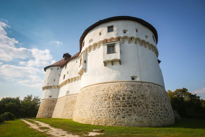 Veliki Tabor castle in Zagorje royalty free stock photos