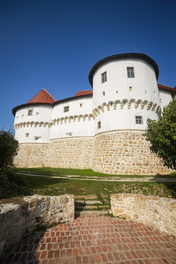 Veliki Tabor castle in Zagorje royalty free stock image