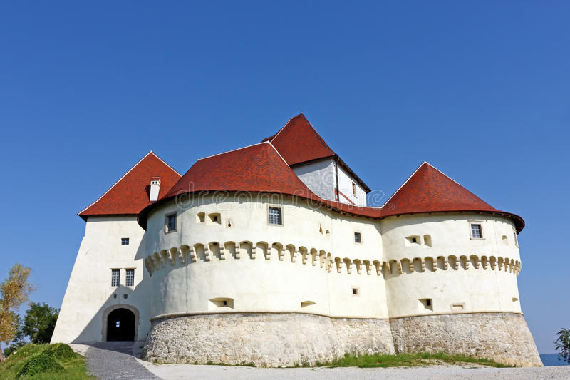 Veliki Tabor, fortress. And museum in northwest Croatia, dating from the 12th century stock photography