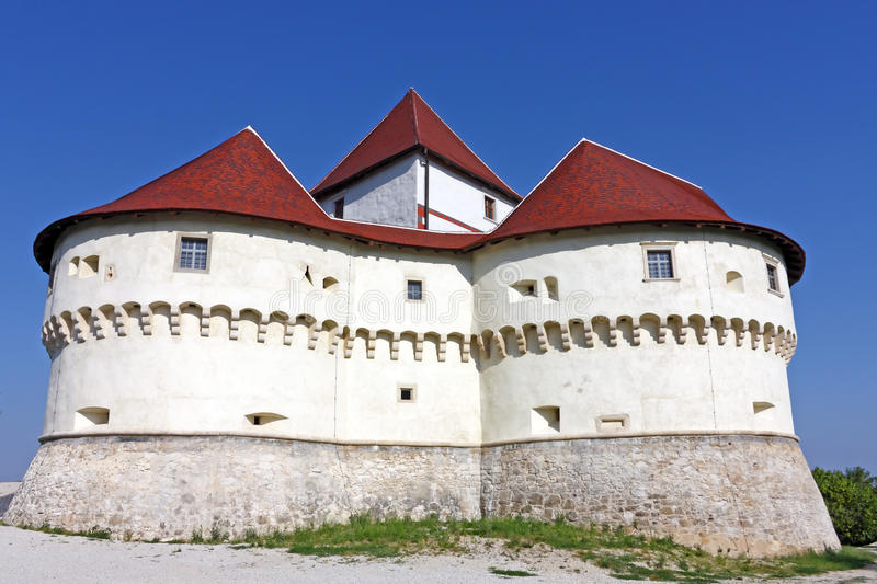 Veliki Tabor, fortress. And museum in northwest Croatia, dating from the 12th century stock images
