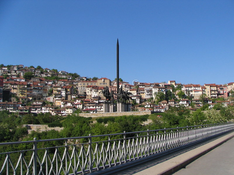 Download Veliko Tarnovo stock image. Image of town, monument, bridge - 2721215