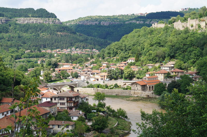 Veliko Tarnovo стоковое изображение rf
