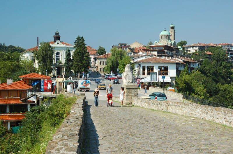 Veliko Tarnovo, Bulgária, herança do unesco fotos de stock royalty free