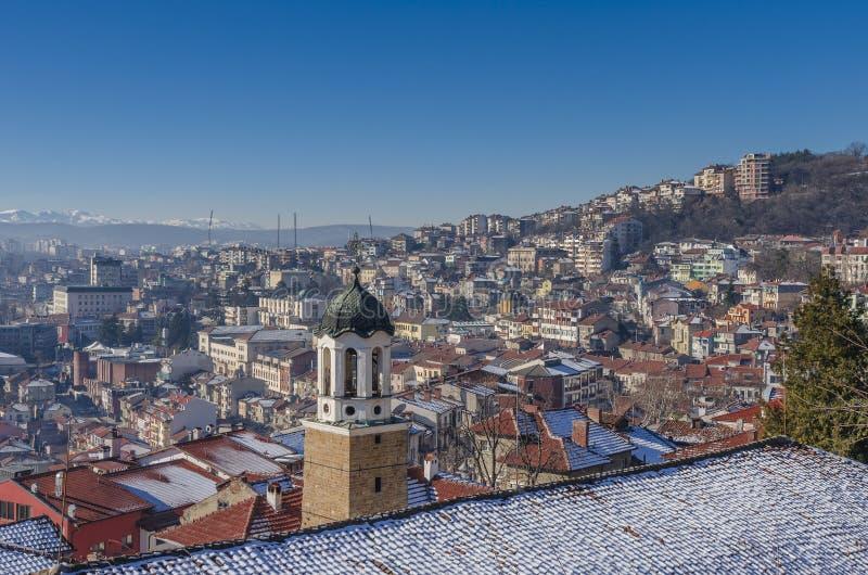 Veliko Tarnovo in Bulgaria royalty free stock image
