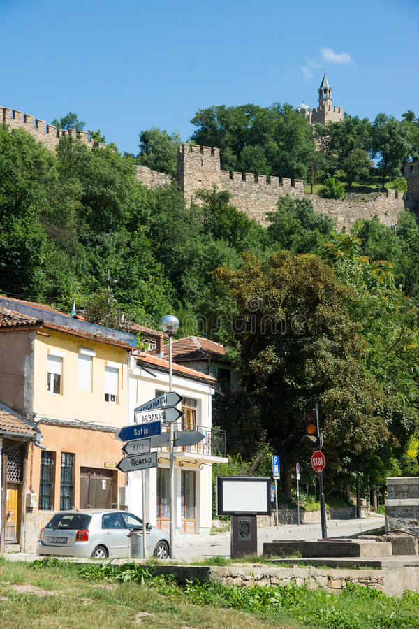 Veliko Tarnovo Kreuzungen aller Straßen stockbilder