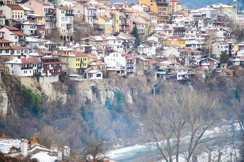 Download Veliko Turnovo stock photo. Image of avenues, color, homes - 83718020