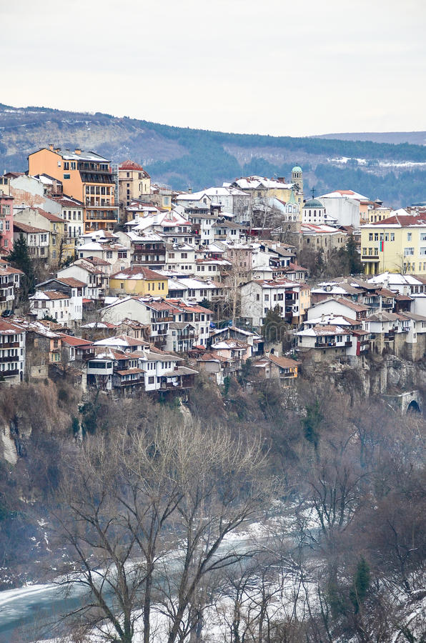 Download Veliko Turnovo stock photo. Image of congestion, houses - 83719438