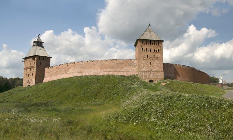 Veliky Новгород Кремль стоковое фото