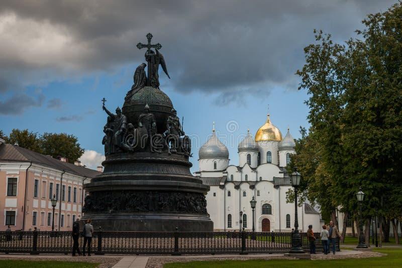 Veliky Новгород один из самых старых и важных исторических городов в России стоковое изображение