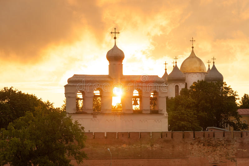 Veliky Novgorod stockfotografie