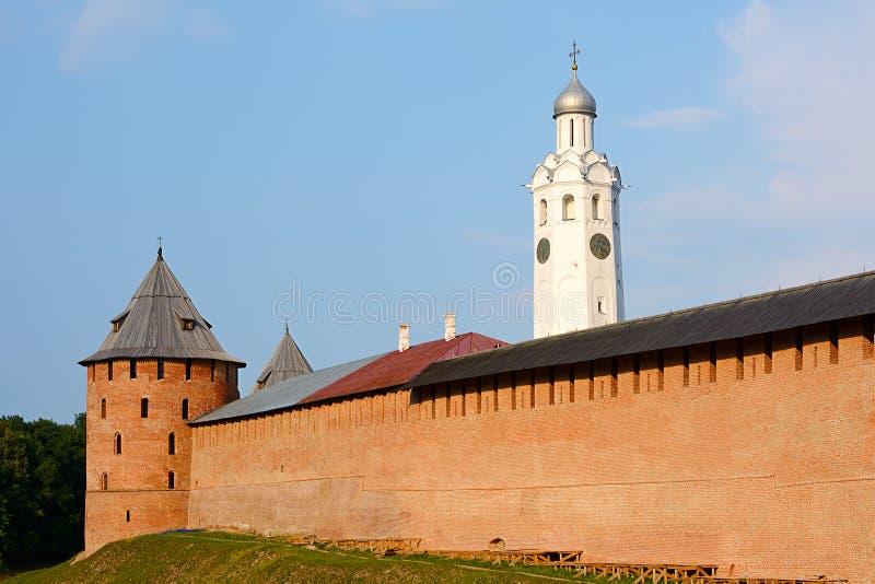 Veliky Novgorod, der Kreml lizenzfreies stockbild