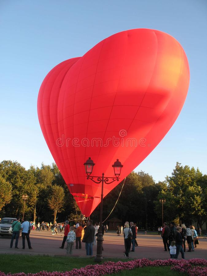 Veliky Novgorod Festa dei palloni fotografia stock libera da diritti