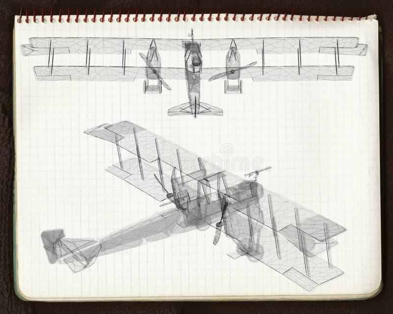 Velivoli 2 dell'annata illustrazione vettoriale