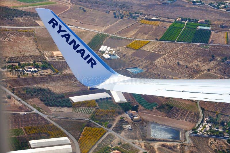 Velivoli di Ryanair fotografia stock