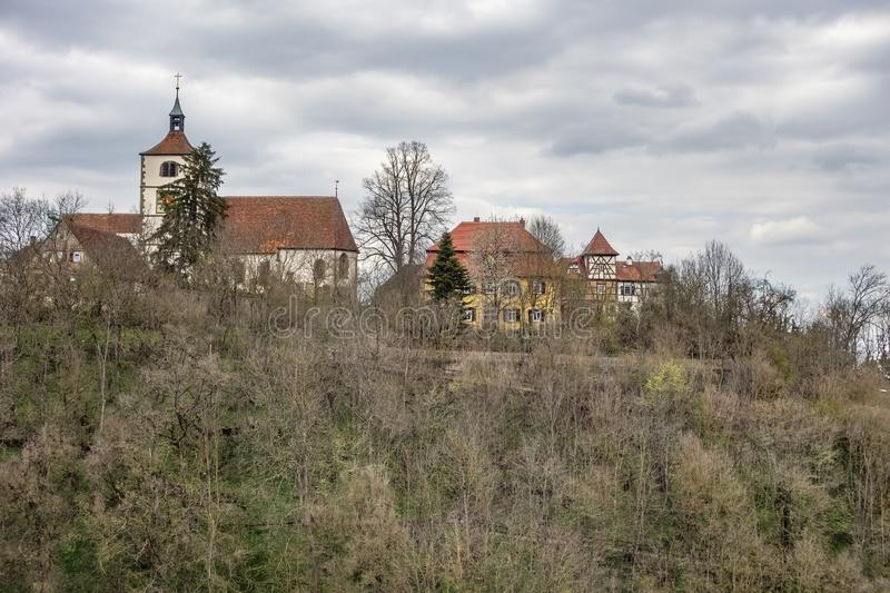 Vellberg in Germany. Impression of a idyllic town named Vellberg in Southern Germany royalty free stock photo