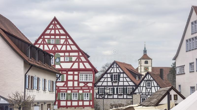 Vellberg in Germany. Impression of a idyllic town named Vellberg in Southern Germany royalty free stock photos