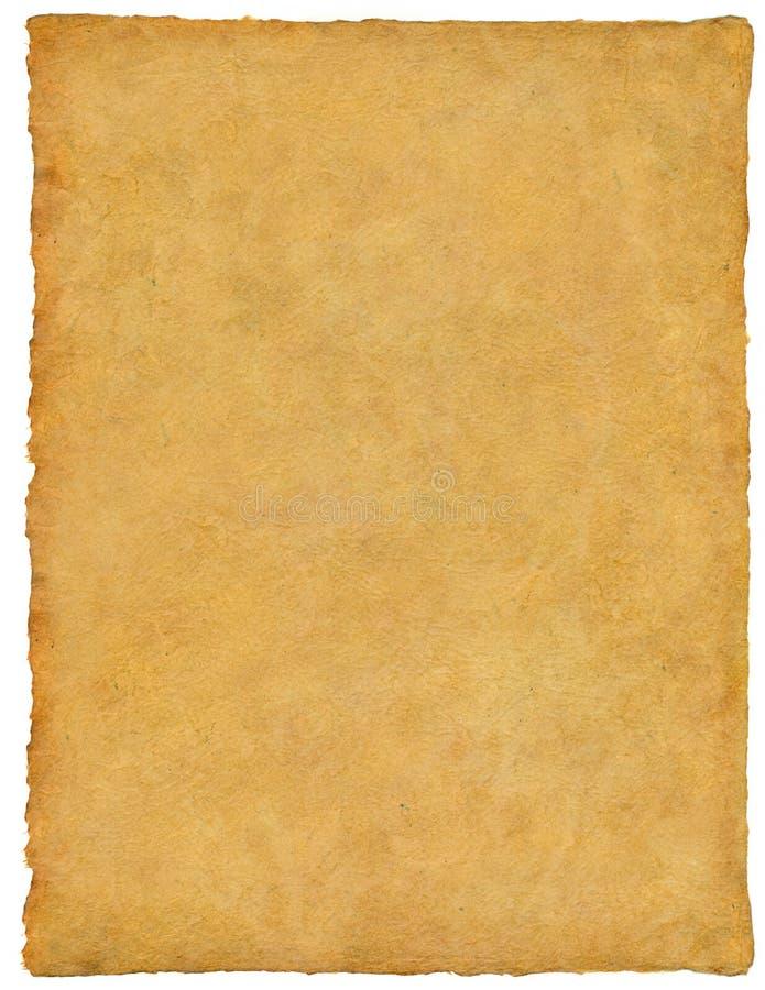 Vellum/papiro/pergaminho fotografia de stock royalty free