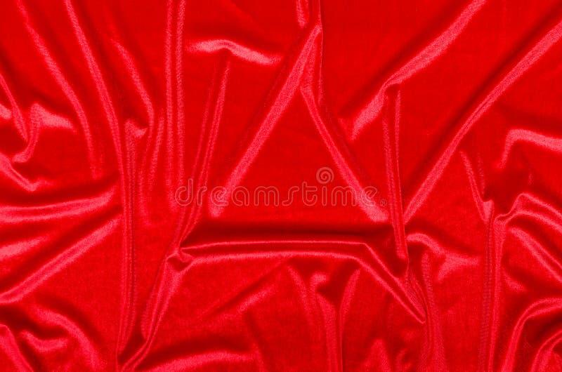 Velluto rosso fotografia stock