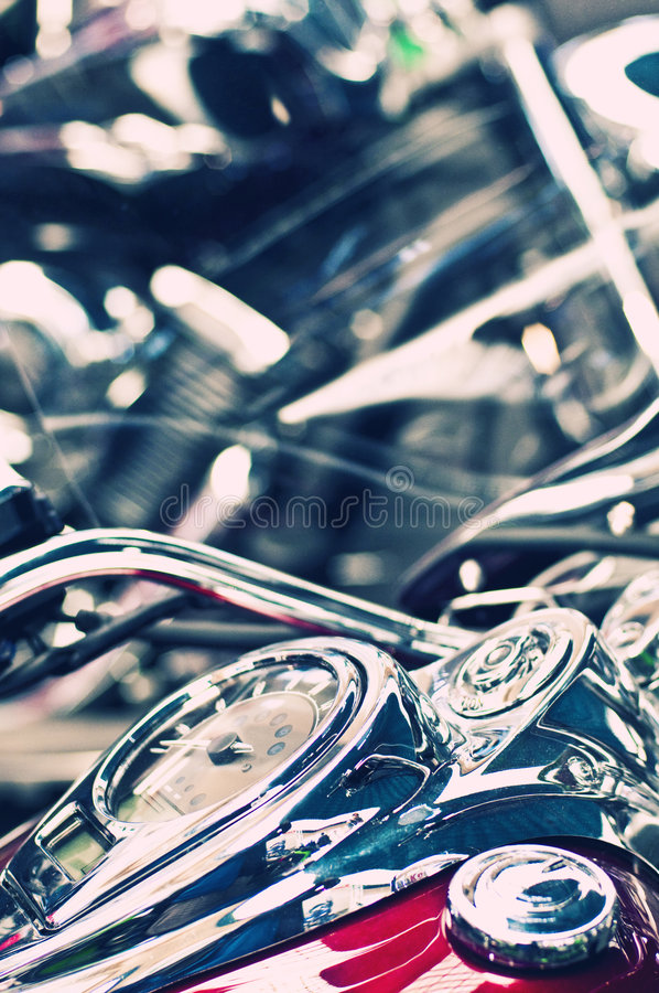 Velocímetro clássico da bicicleta imagens de stock