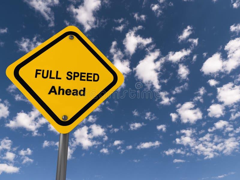 Velocidad completa a continuaci?n fotos de archivo