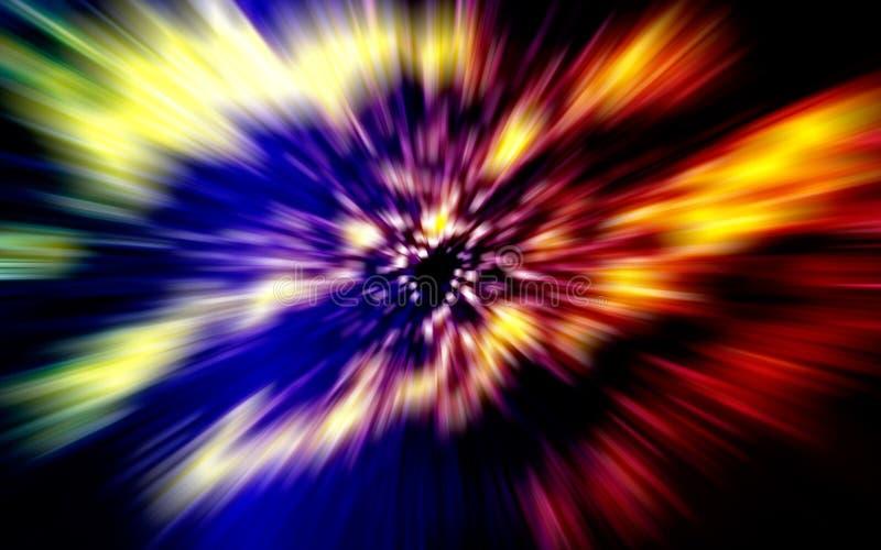 Velocidad de la luz ilustración del vector