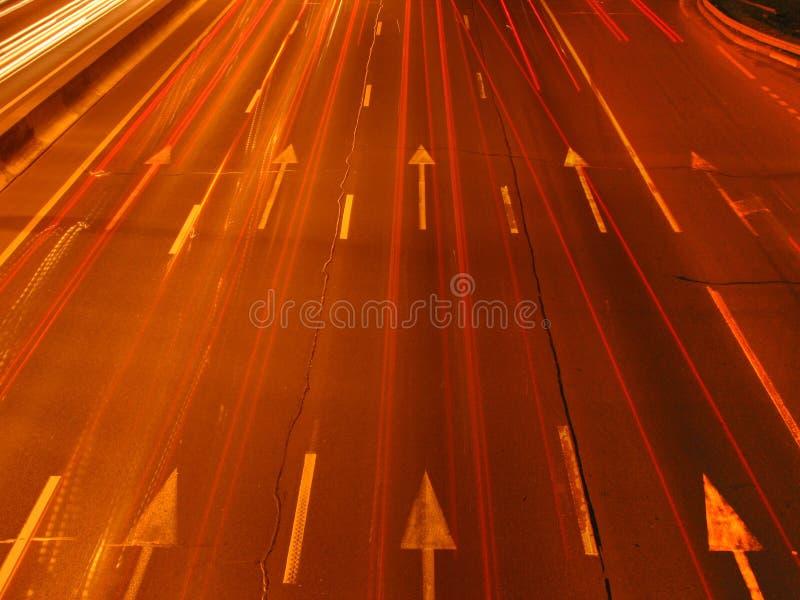 Velocidad de la luz fotografía de archivo