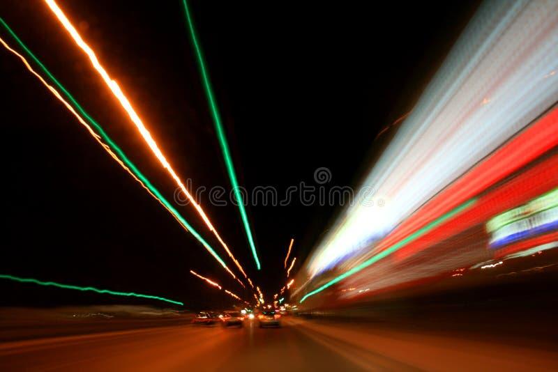 Velocidad de la luz fotos de archivo libres de regalías