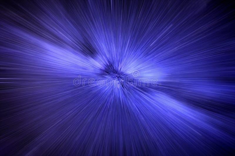 Velocidad de la luz con el movimiento de las estrellas fotos de archivo libres de regalías
