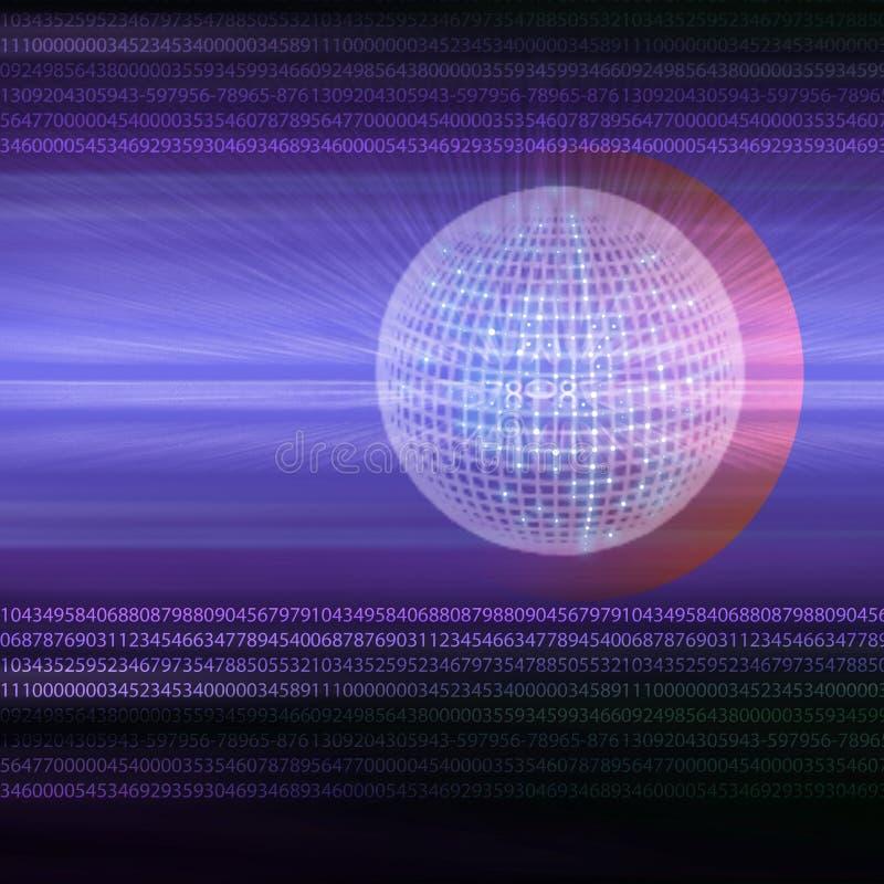 Velocidad de la tierra ilustración del vector