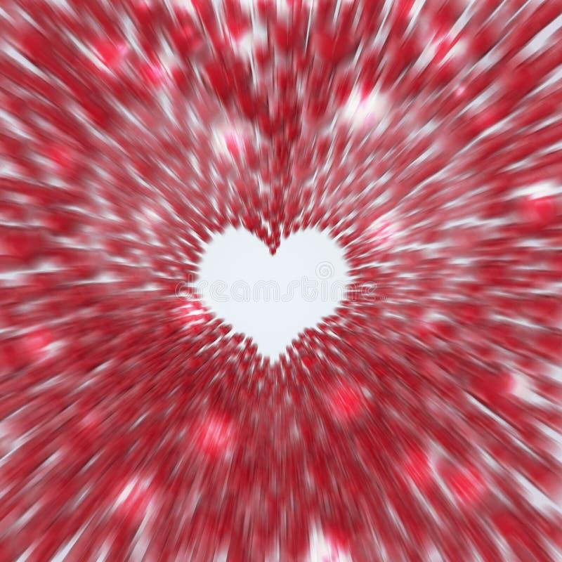 Velocidad del amor stock de ilustración