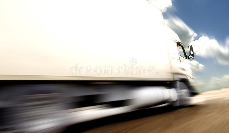 Transporte y velocidad stock de ilustración