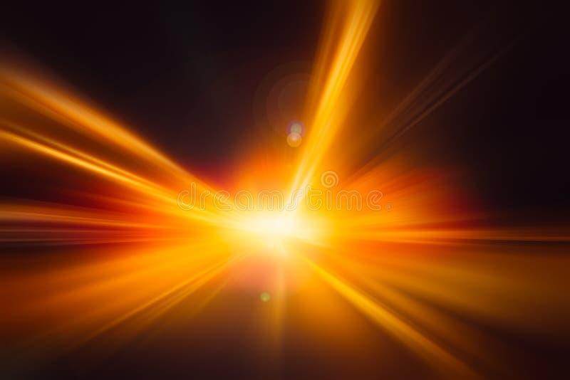 Velocidad del camino de la impulsión de la aceleración del relámpago del hola-poder de la falta de definición foto de archivo libre de regalías