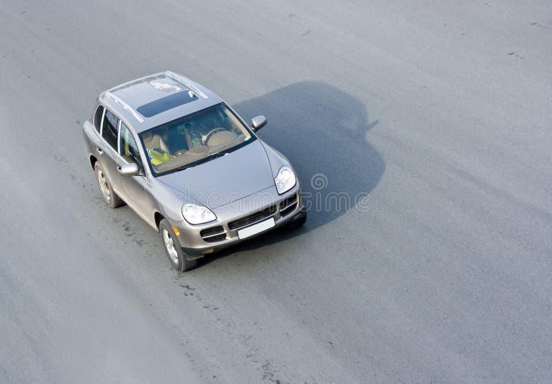 Velocidad del coche fotografía de archivo