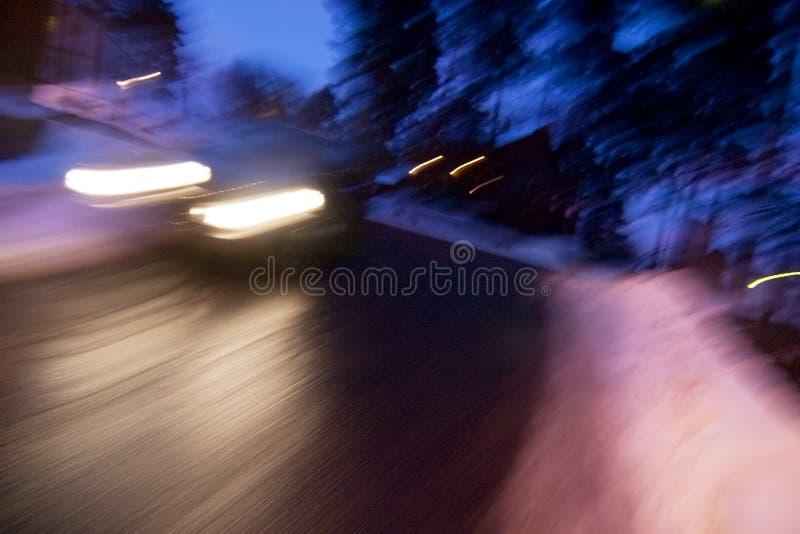 Velocidad del invierno fotos de archivo libres de regalías