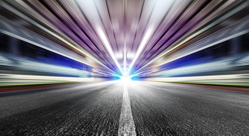Velocidad en túnel urbano imagenes de archivo