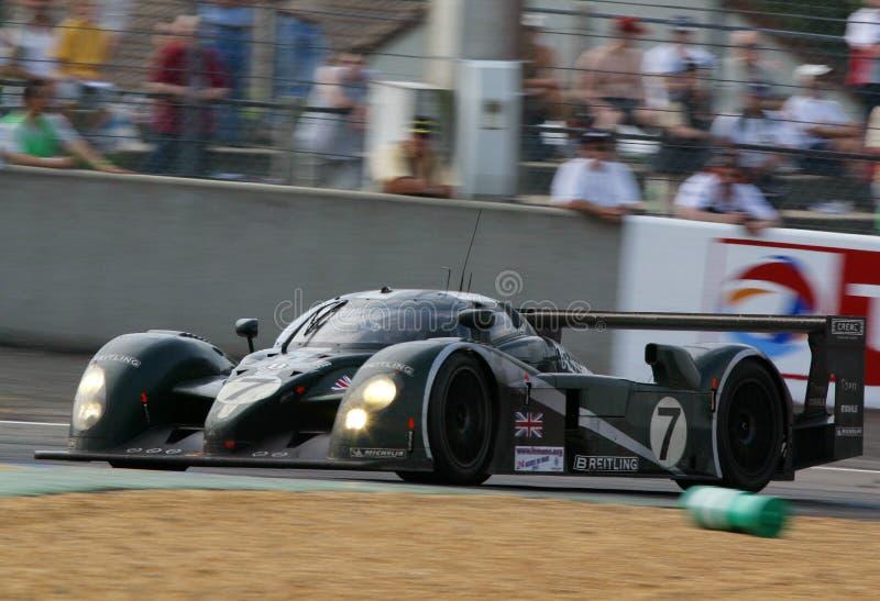 Velocidade 8 de Bentley (raça de Le Mans 24h) foto de stock