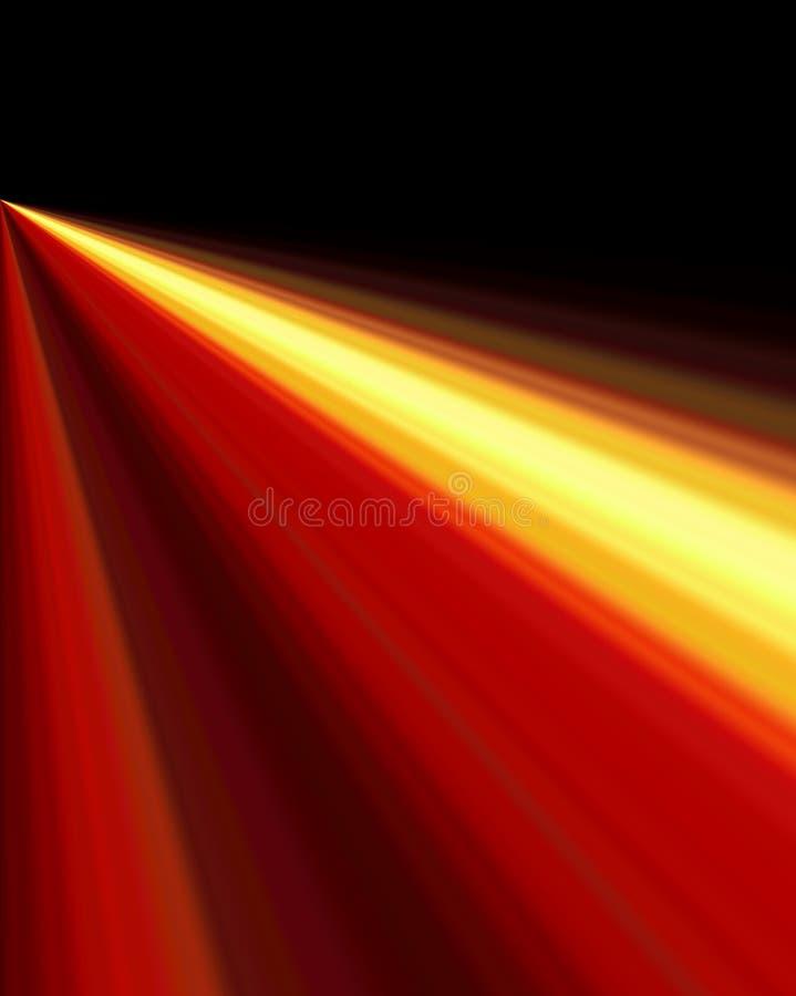 Velocidade clara ilustração stock