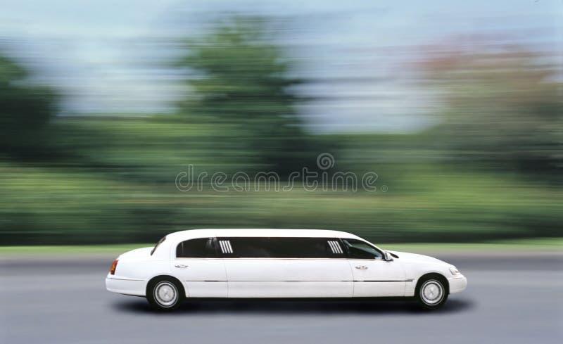 Velocidade da limusina fotos de stock royalty free