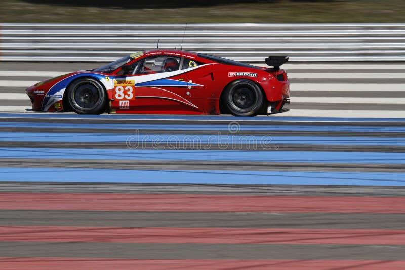 Velocidade em Paul Ricard High Tech Test imagens de stock royalty free