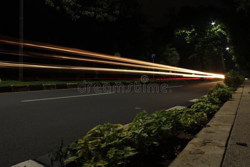 Velocidade lenta na rua foto de stock royalty free