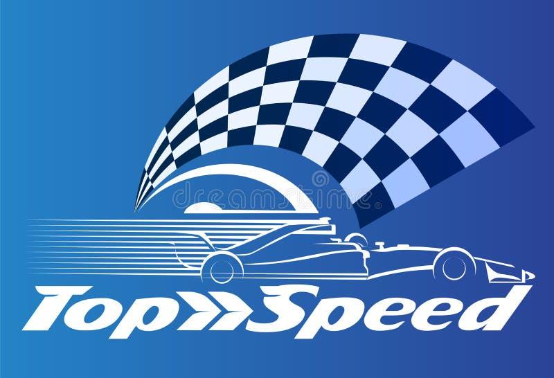 Velocidade superior ilustração stock