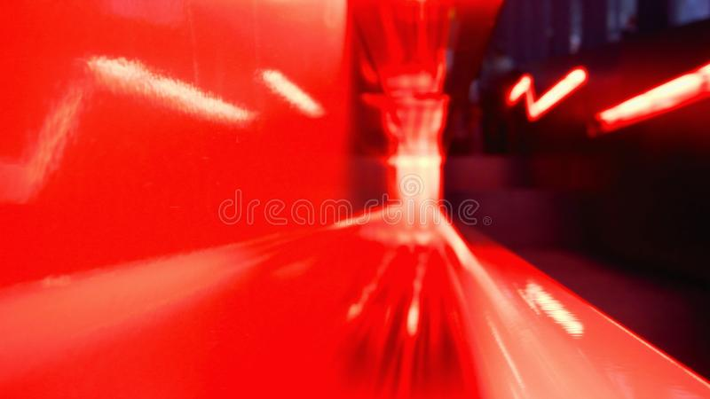 Velocidade vermelha imagem de stock