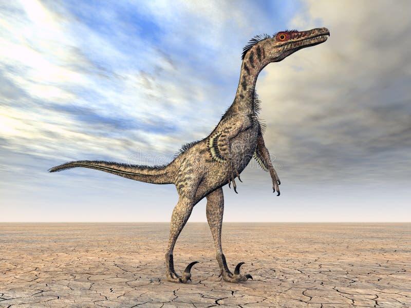 Download Velociraptor stock illustration. Image of wilderness - 25212514