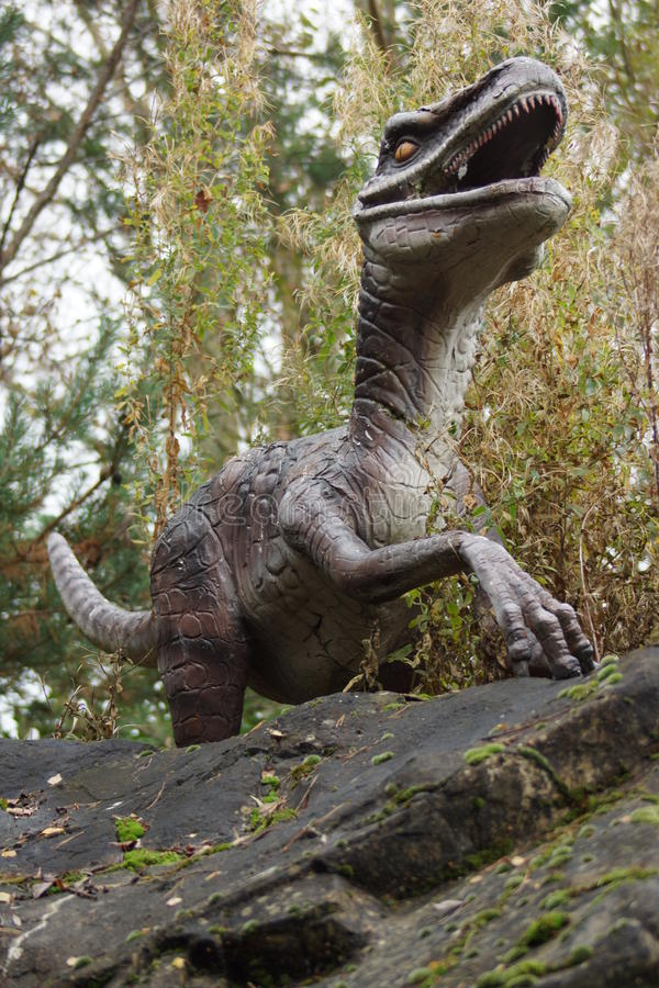 Velociraptor στοκ εικόνες