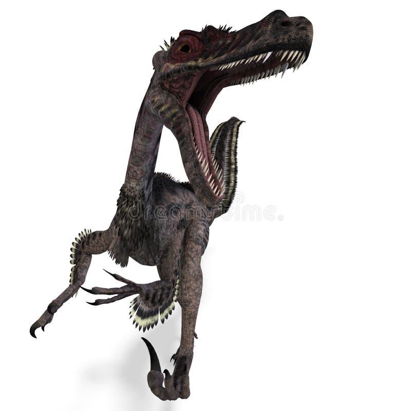 Velociraptor de dinosaur illustration libre de droits