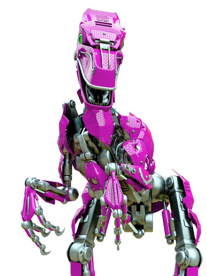 Free Velociraptor Robot Nice Close Up Picture Stock Photography - 165158522