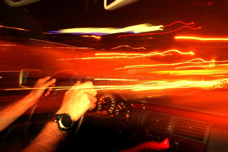 Download Velocità fotografia stock. Immagine di strada, automobile - 200514