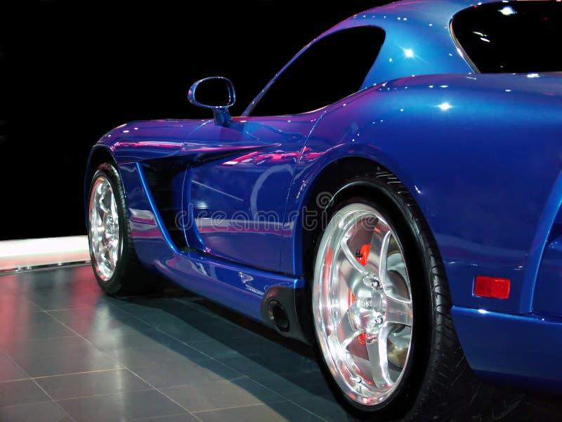 Velocità blu! fotografia stock