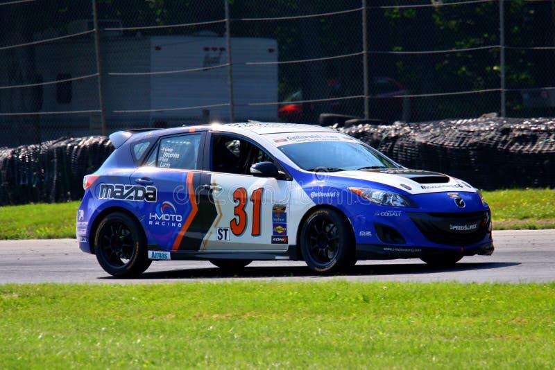 Velocità 3 di Mazda fotografie stock libere da diritti