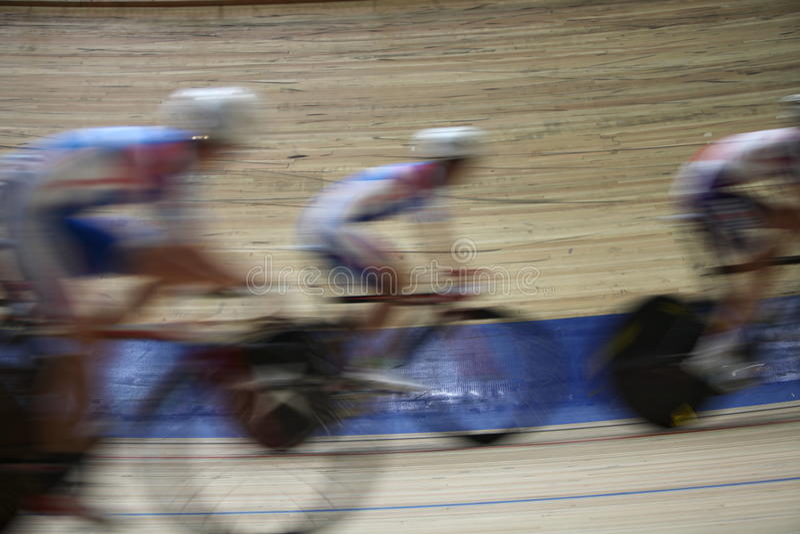 Velodrome för cykellopp royaltyfri foto